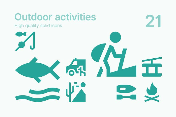 Thumbnail for Outdoor Activity Icons