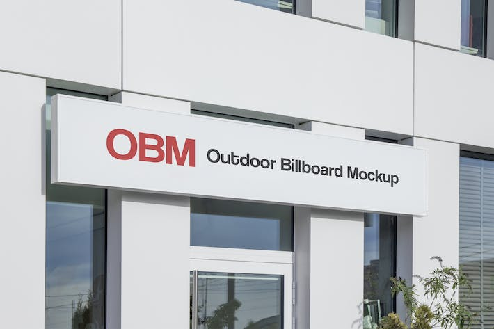 Thumbnail for Outdoor Advertising Billboard Mockup #1