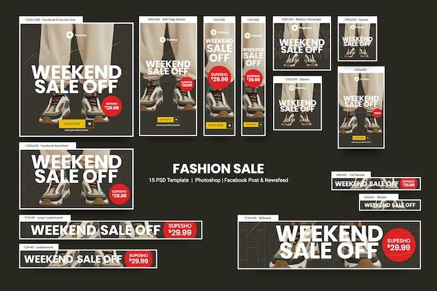 Fashion Sale Banners Ad