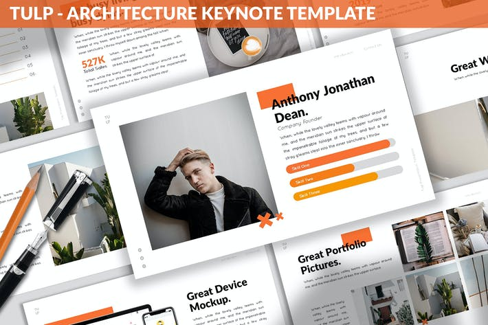 Tulp - Architecture Keynote Template