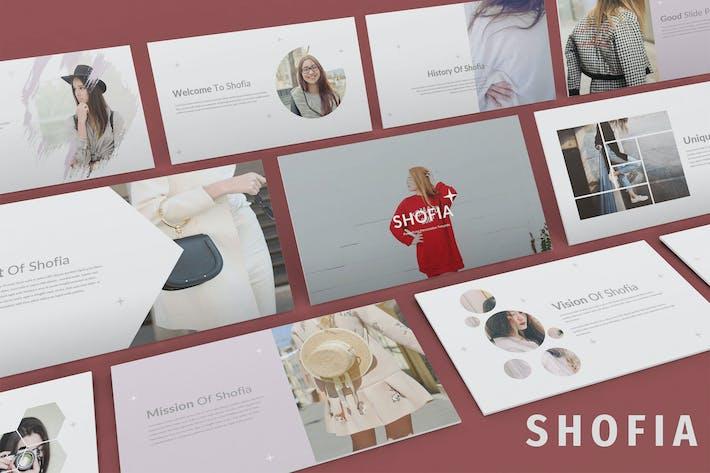 Thumbnail for Shofia - Мода Google Презентация слайдов