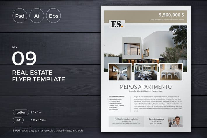 Thumbnail for Slidewerk - Real Estate Flyer 09