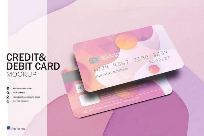 Credit & Debit Card Mockups