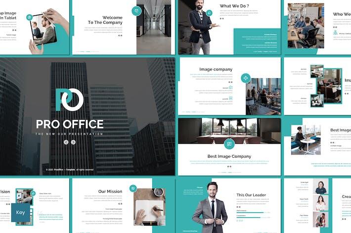 Thumbnail for Pro Office - Шаблон ключевых заметок бизнеса