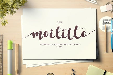 Mailitta font duo