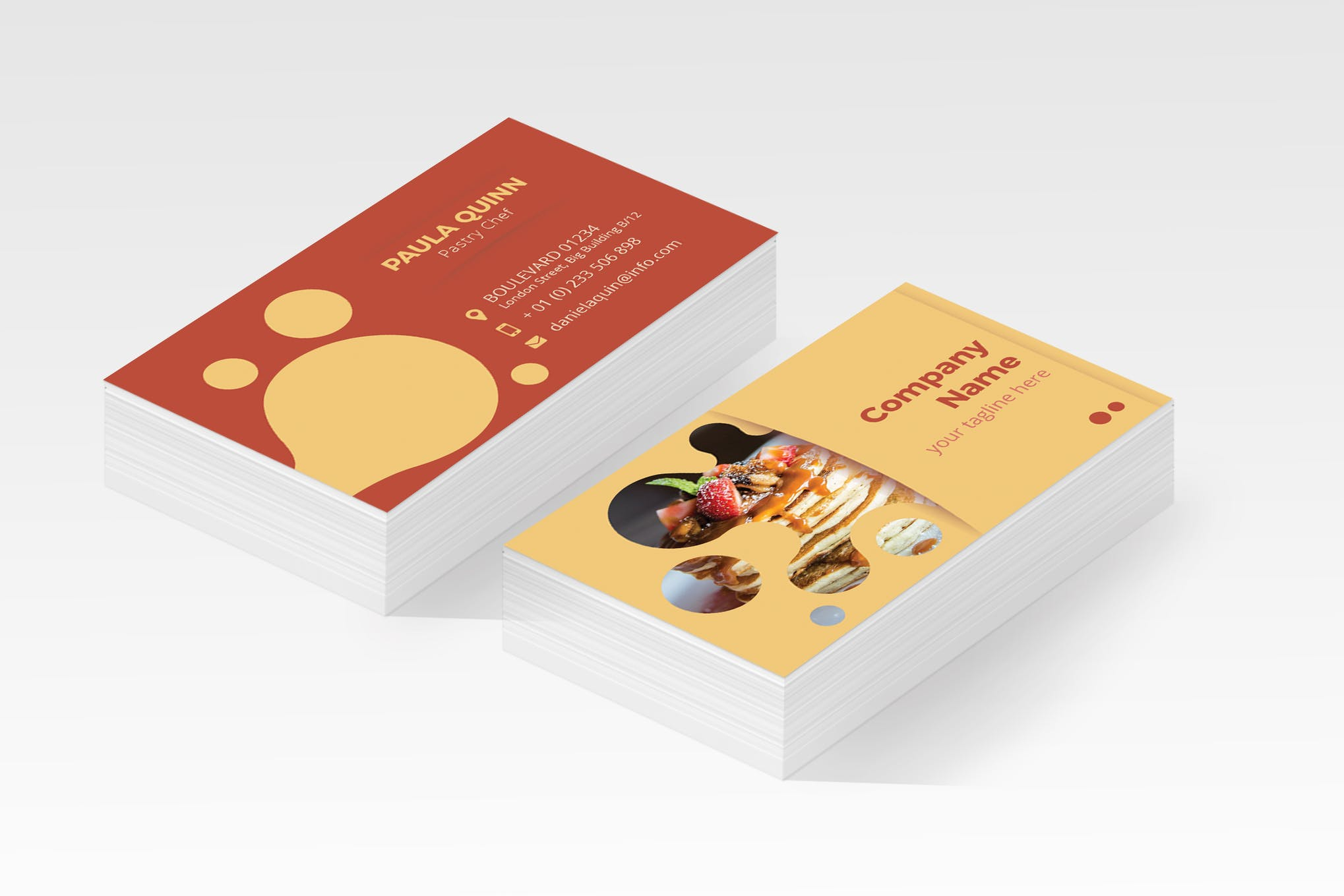 Restaurant Business Cards Business Card Templates