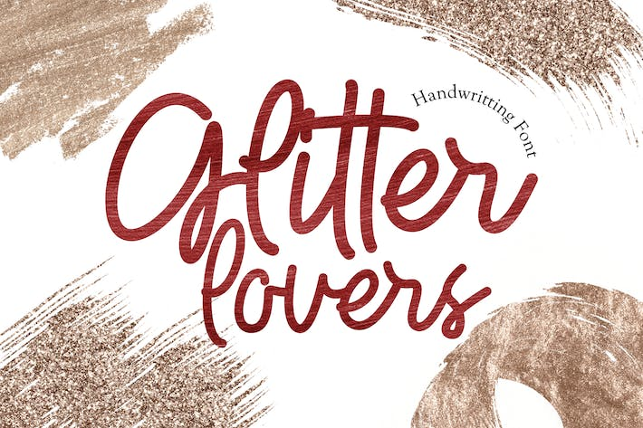 Thumbnail for Glitter Lovers - Display Font