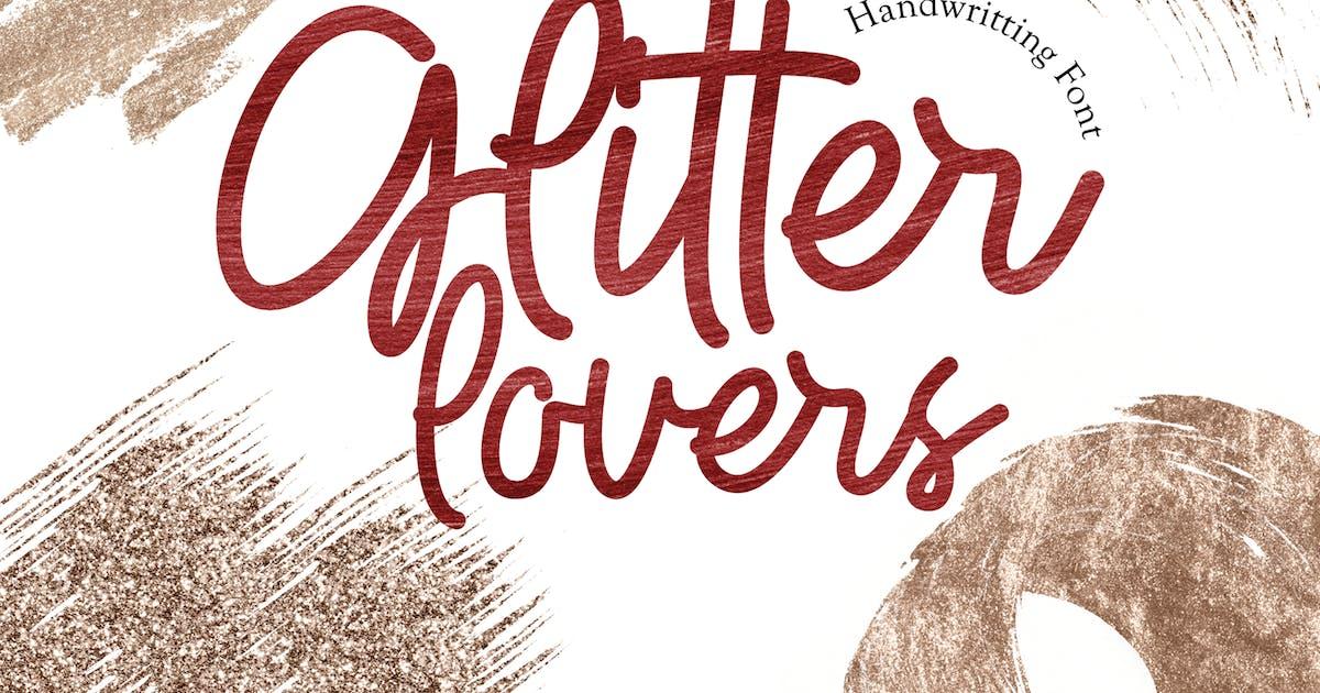 Download Glitter Lovers - Display Font by deemakdaksinas