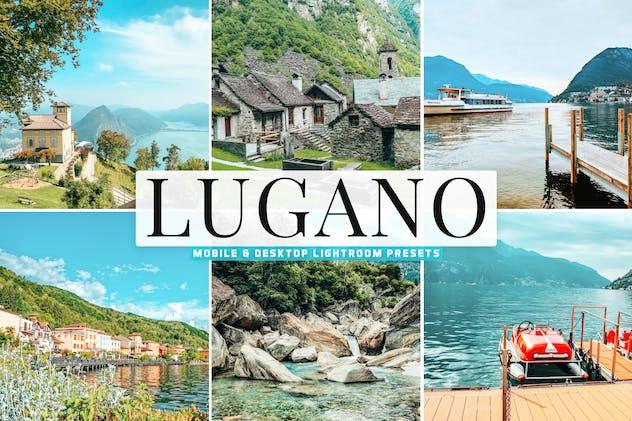 Lugano Mobile & Desktop Lightroom Presets
