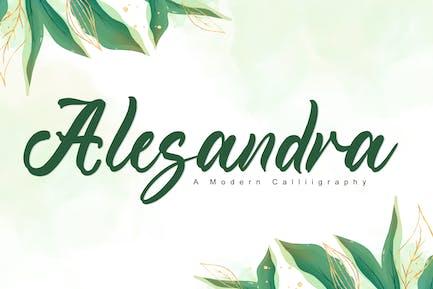 Alesandra - Wedding Font