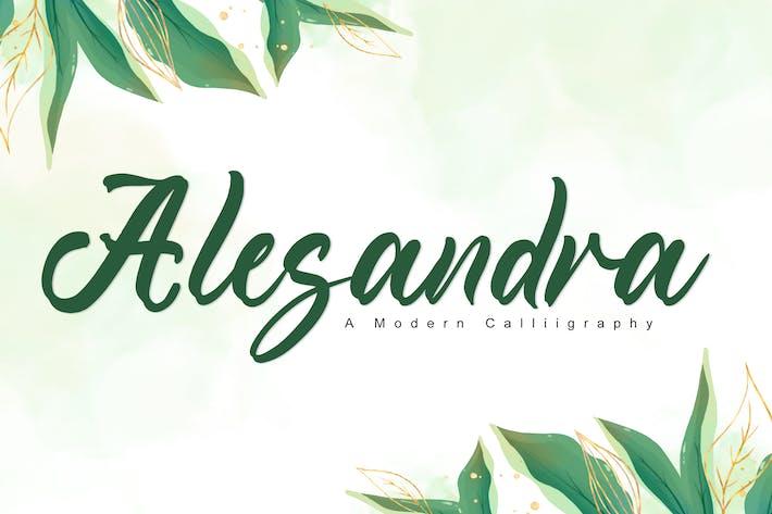 Alesandra - Police de mariage