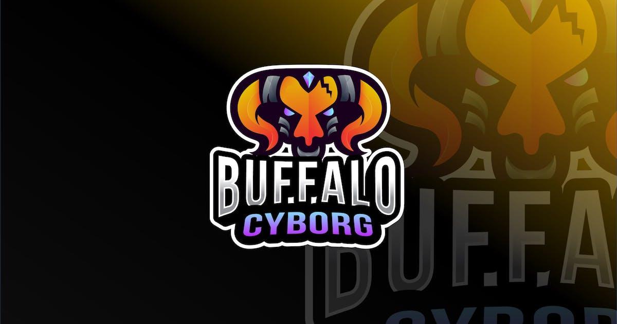 Download Buffalo Cyborg Esport Logo Template by IanMikraz