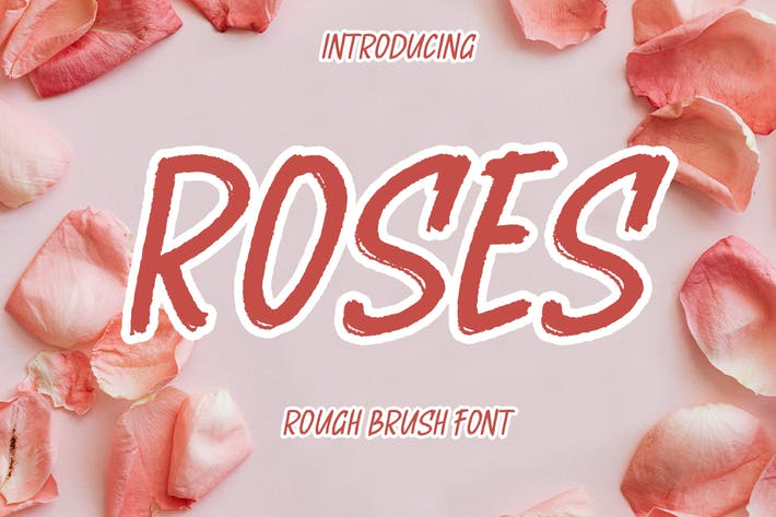 Thumbnail for Fuente de pincel ROSES