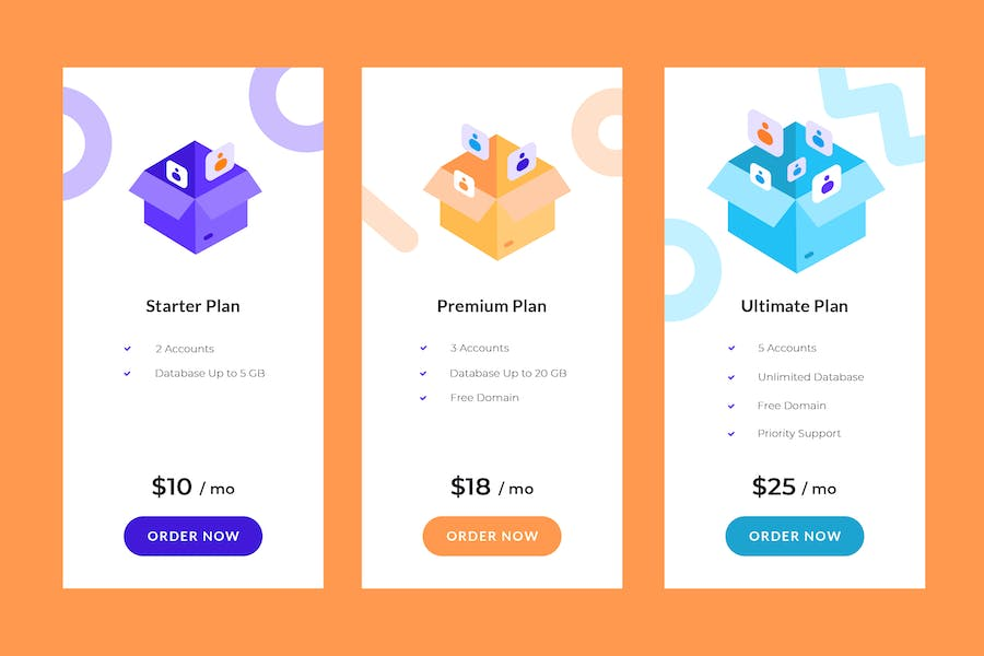 Pricing Table Vol.6
