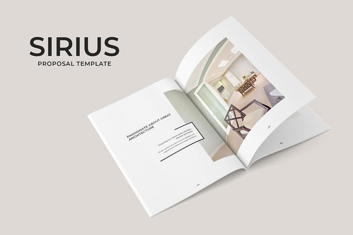 Thumbnail for Sirius Proposal Template