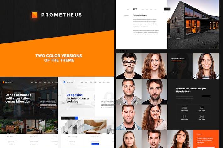 Cover Image For Prometheus – Multipurpose HTML Template