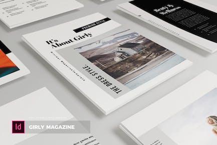 Girly | Magazine Template