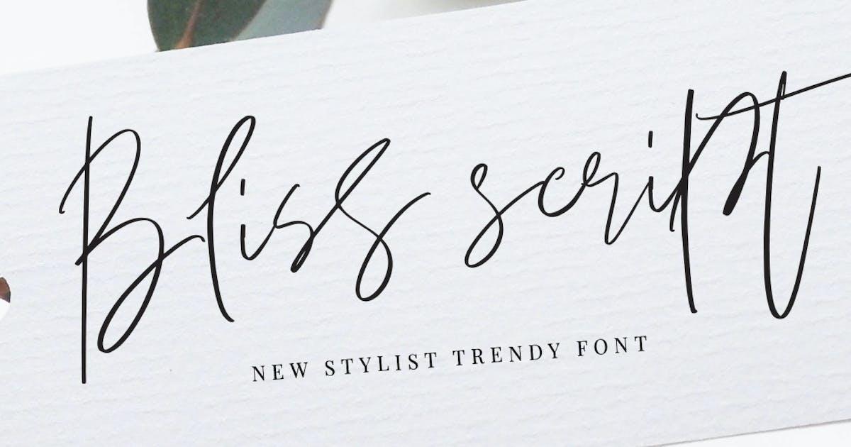 Download Bliss Script Stylist! by dirtylinestudio