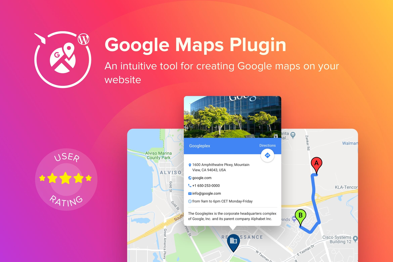 WordPress Google Maps Plugin by Elfsight on Envato Elements