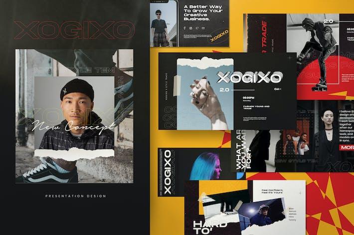 Thumbnail for XOGIXO - Urban Creative Keynote