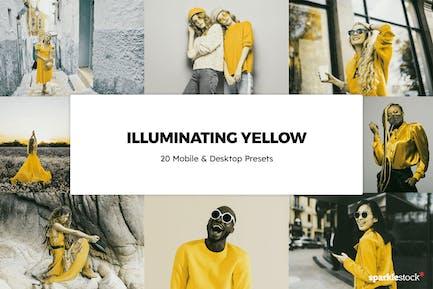 20 Illuminating Yellow Lightroom Presets & LUTs