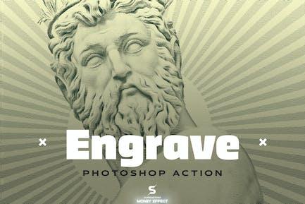 Engrave Photoshop Action Kit - & Duotone FX