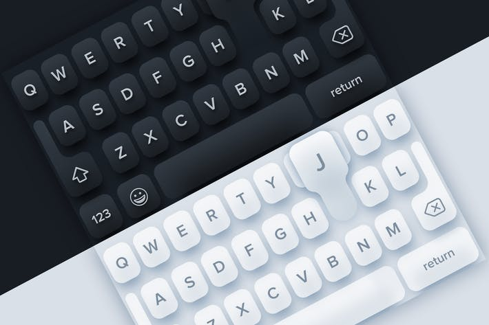 Thumbnail for 2 Mobile Keyboards