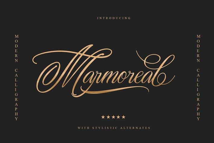 Thumbnail for Marmoreal Decorative Script