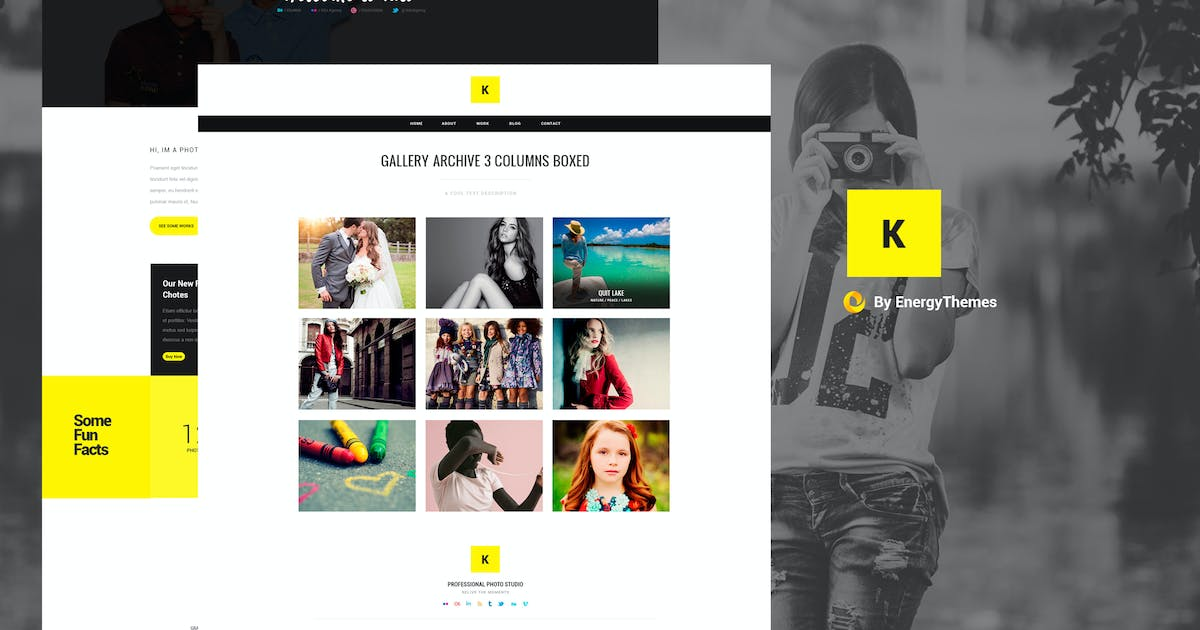 Download Kito - Photography PSD Template by EnergyThemes