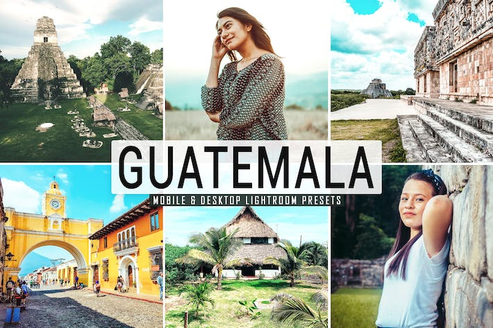 Thumbnail for Guatemala Mobile & Desktop Lightroom Presets