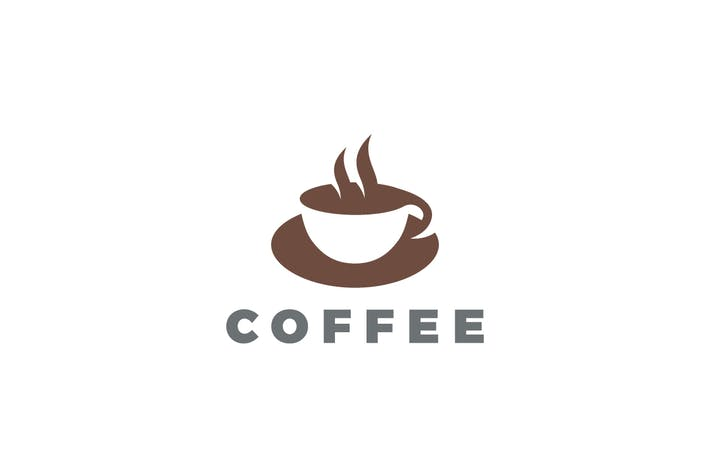 Thumbnail for Logo Coffee Cup Hot Drinks Cafe