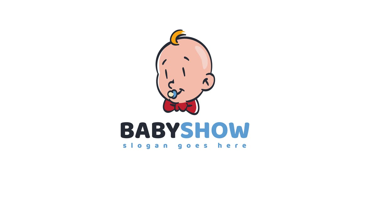 Download Baby Shop Logo Template by Slidehack