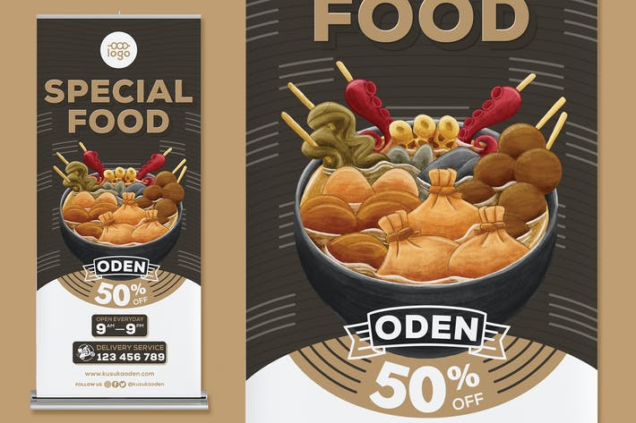 Thumbnail for Oden Roll Up Banner