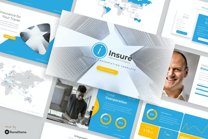 Thumbnail for Insure - Google Slides