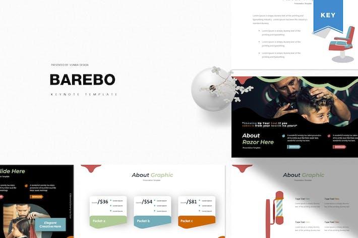 Thumbnail for Barebo   Keynote Template