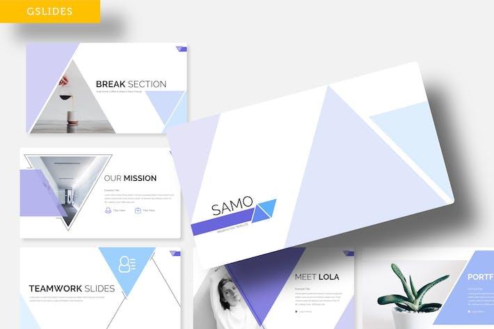Thumbnail for Samo - Google Slide Template
