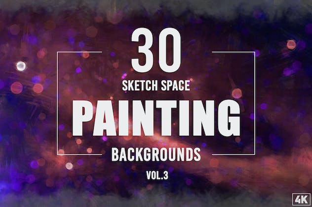 30 Sketch Space Painting Backgrounds - Vol. 3