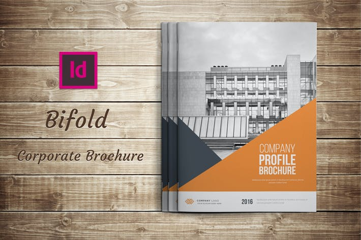 Cover Image For Bifold Corporate Brochure