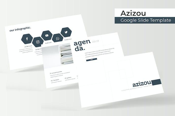 Azizou - Google Slide Template