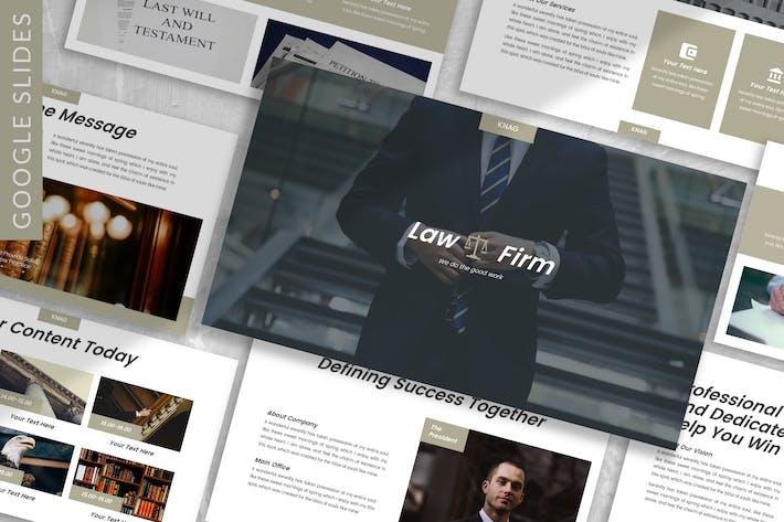 Thumbnail for Knag - Firm Google Slide Template