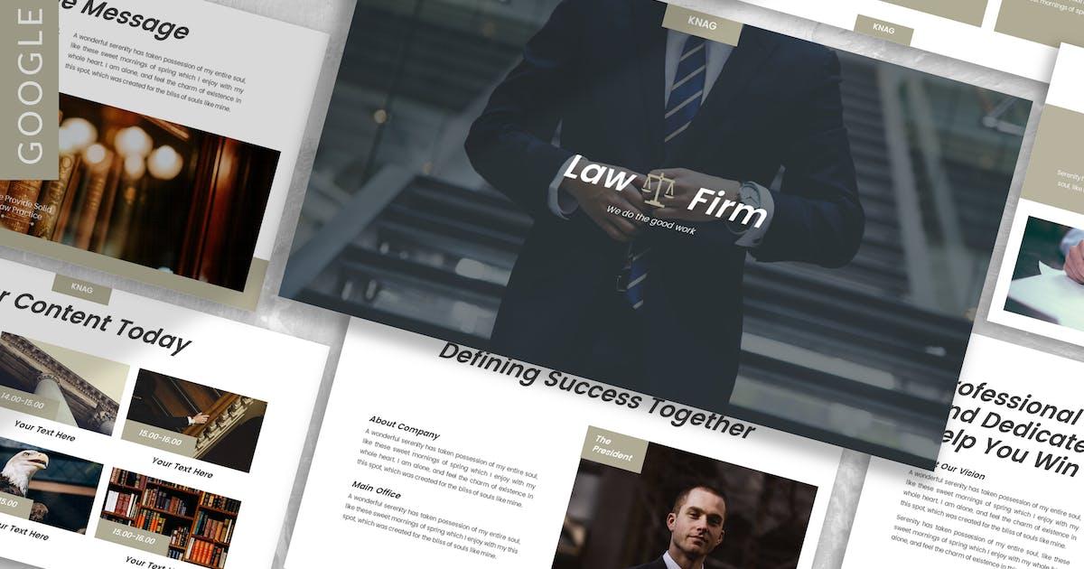 Download Knag - Firm Google Slide Template by designesto