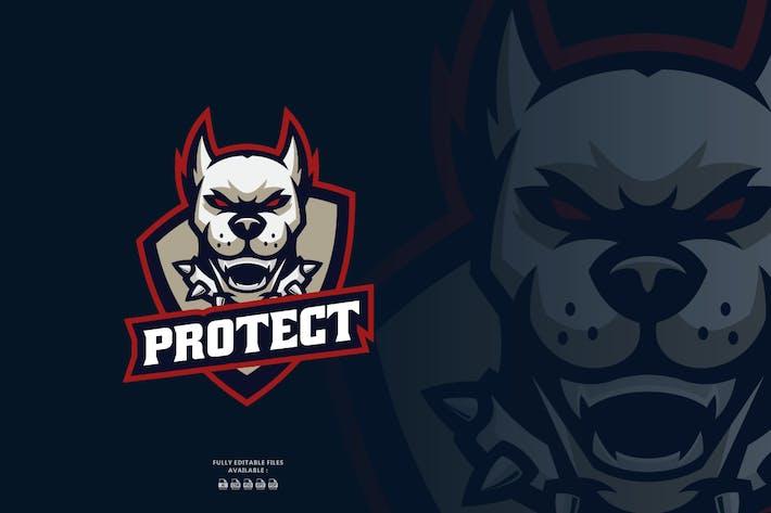 Dog Sports and E-sports Logo