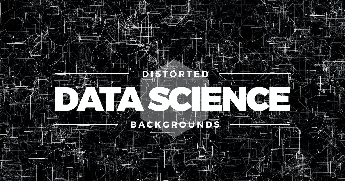 Download Distorted Data Science Backgrounds by Shemul