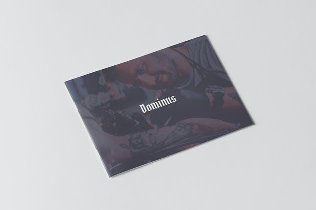Dominus Tattoo Portfolio Brochure
