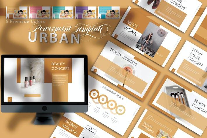 Thumbnail for Urban - Powerpoint-Vorlagen