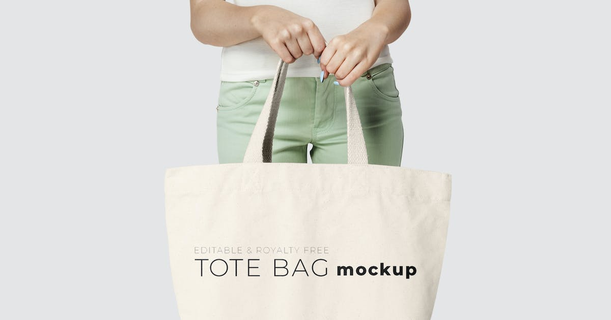 Download Editable tote bag mockup template youth apparel by Rawpixel