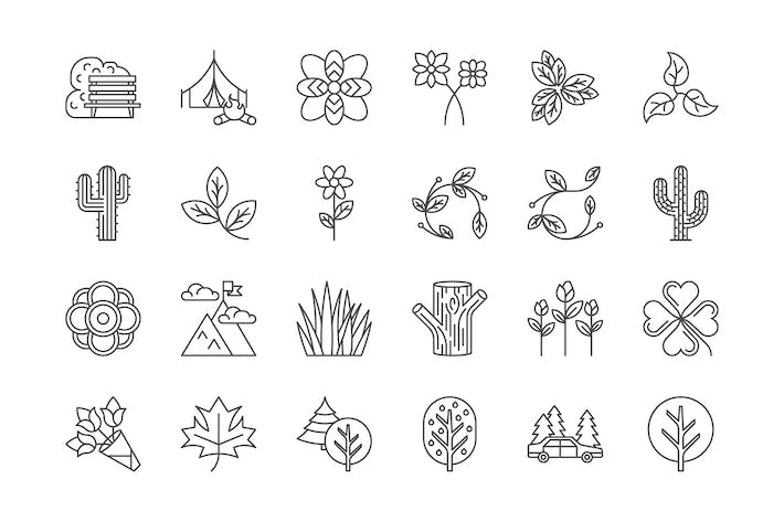 Thumbnail for 42 Nature & Outdoors Icons