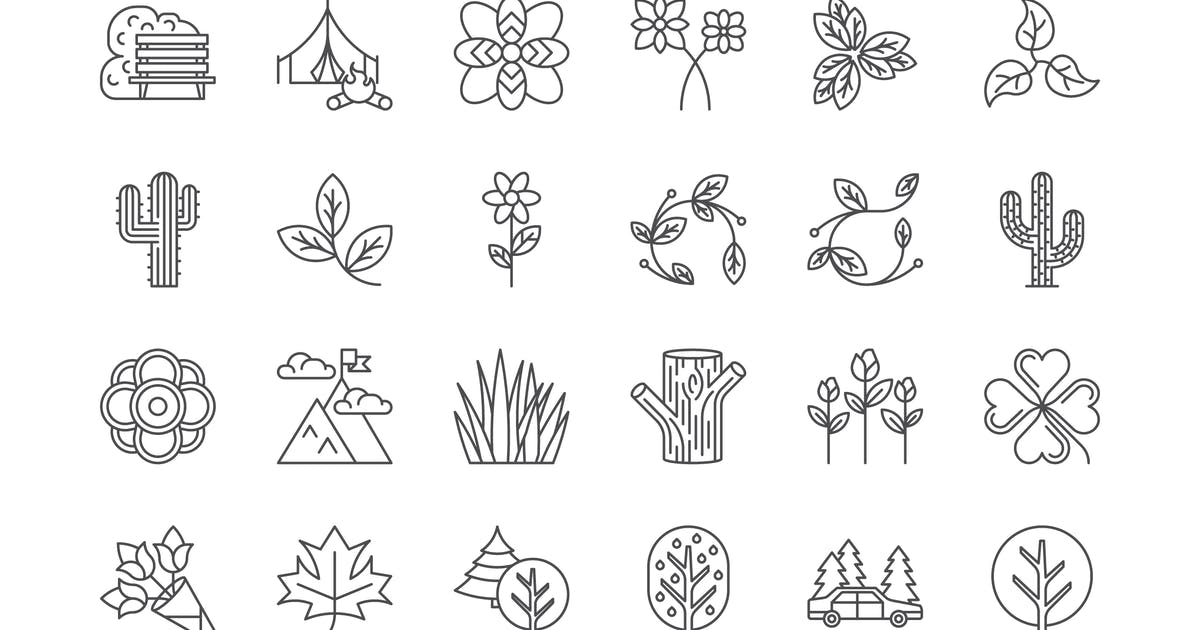 Download 42 Nature & Outdoors Icons by polshindanil