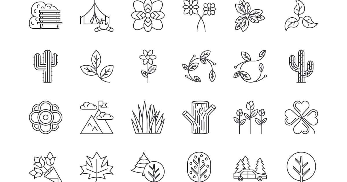 42 Nature & Outdoors Icons by polshindanil