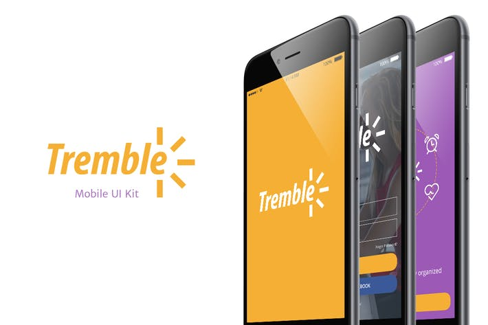Thumbnail for Tremble UI Kit